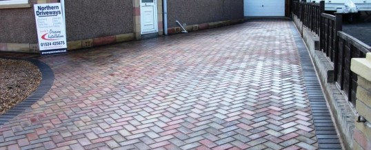 Morecambe Blockpaving Autumn Mix