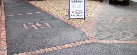 Lancaster Blockpaving in Dunkenshaw Crescent