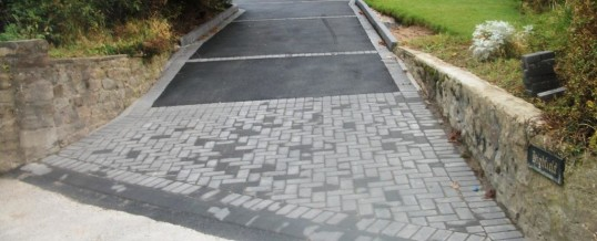 Lancaster Picture Frame Tarmac with Charcoal Entrance