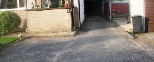 Lancaster Tarmac in Blackwood Drive…Before