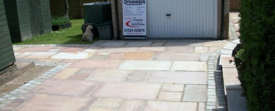 Lancaster Indian Paving in Bowerham Road