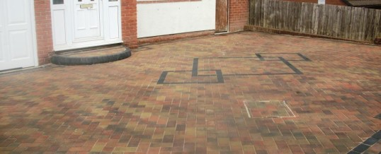 Heysham Blockpaving Burford Close