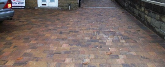 Morecambe Blockpaving Burlington Road Tegulas