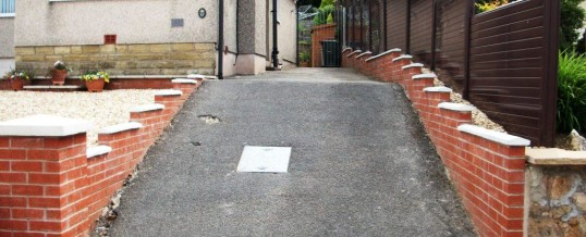 Lancaster Blockpaving in Chequers Avenue…Before