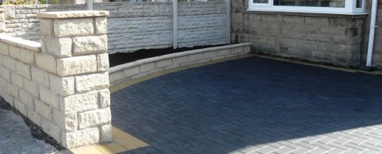 Lancaster Blockpaving in Cleveleys Avenue with Charcoal