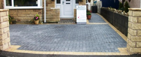 Lancaster Blockpaving in Cleveleys Avenue in Charcoal