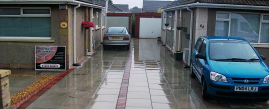 Morecambe Paving in Fairlea Avenue Grey Flags