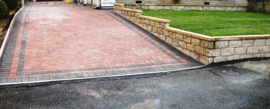Lancaster Blockpaving in Farmdale Road in Brindle