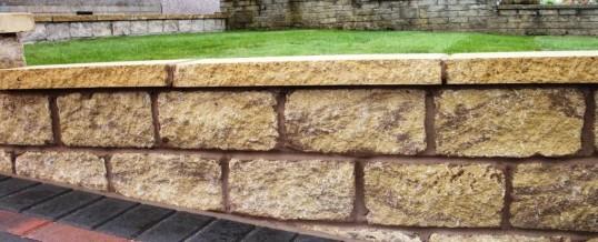 Lancaster Walling in Farmdale Road Mellow York