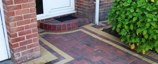 Lancaster Blockpaving in Goodwood Road Brindle with Buff