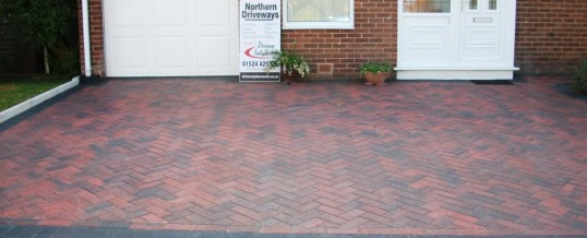 Lancaster Blockpaving in Goodwood Road in Brindle