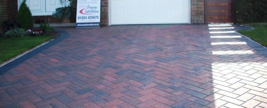 Lancaster Blockpaving in Goodwood Road Brindle and Charcoal