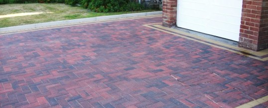 Lancaster Blockpaving in Goodwood Road Brindle and Buff