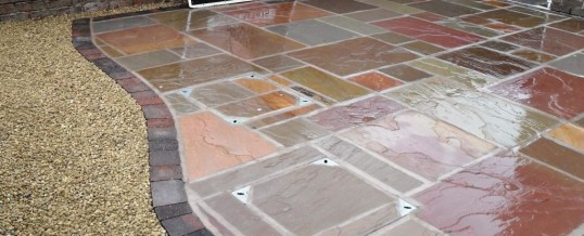 Heysham Indian Paving and Decorative Gravel