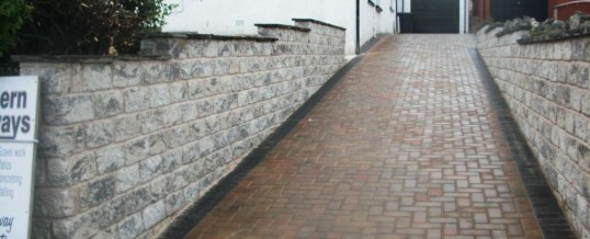 Heysham Blockpaving on Heysham Road…After Autumn Mix and Charcoal