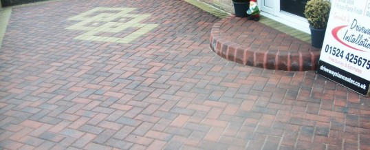 Lancaster Blockpaving at Hodder Place