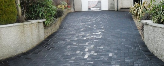 Heysham Blockpaving on Kingsway 3