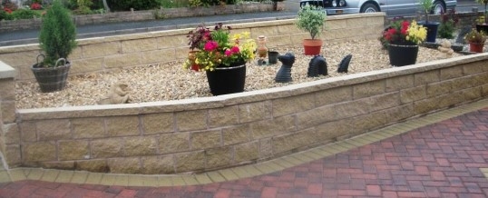 Lancaster Walling in York Stone