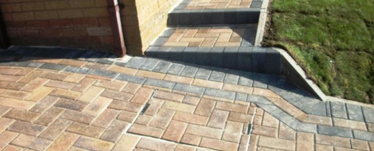Lancaster Blockpaving at Leighton Drive