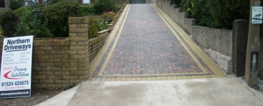 Heysham Blockpaving in Lordsome Road…After