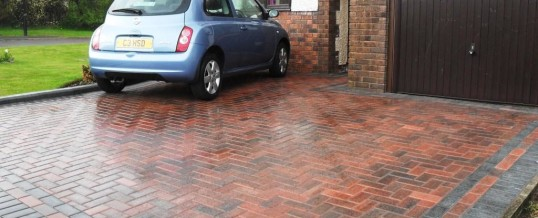 Heysham Blockpaving in Meldon Road 2