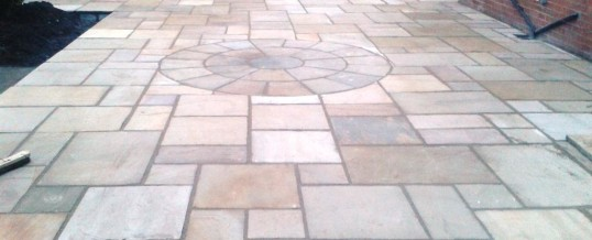 Paving in Barrow in Furness