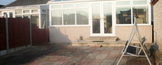 Woodlands Road Morecambe Block Paving…Before