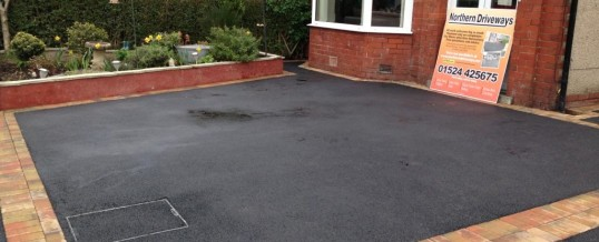Picture Frame Tarmac in Cleveleys Ave Lancaster After 2