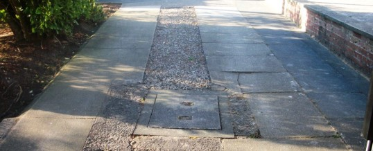 Haydock Road Lancaster Abbey Setts Tegular Paving Before 2
