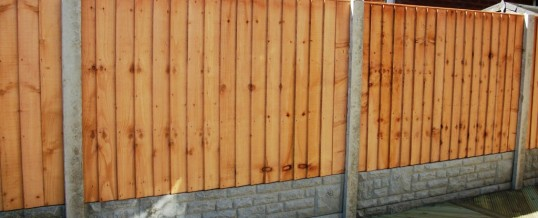 Fencing in Heysham 1