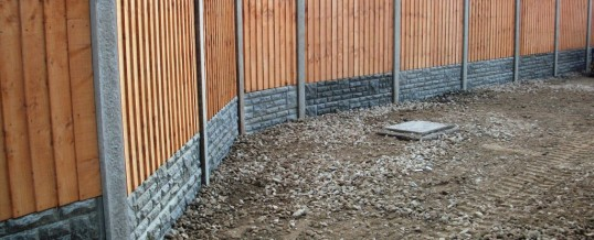 Fencing in Heysham 2