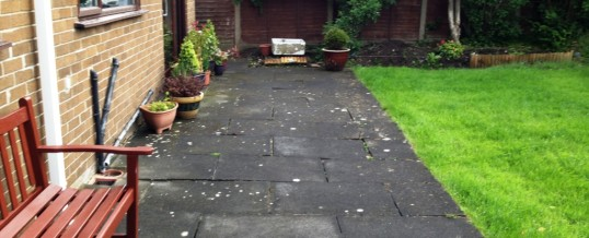 Kennedy Close Lancaster Patio…Before