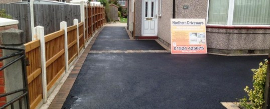 Picture Frame Tarmac with Bracken Border Balmoral Road Morecambe