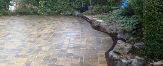 Abbey Sett Paving in Burnt Willow at Torrisholme Road Morecambe 5