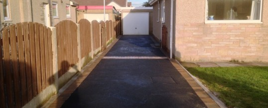 Picture frame Tarmac with bracken borders Gaisgill Avenue Morecambe 2