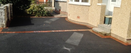 Picture Frame Tarmac with brindle borders Thirlmere Drive Morecambe 2