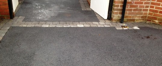 Picture Frame Tarmac with Charcoal Borders Peacock Lane 4