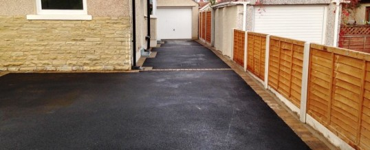 Picture Frame Tarmac with Bracken Borders Wesley Drive Heysham 2