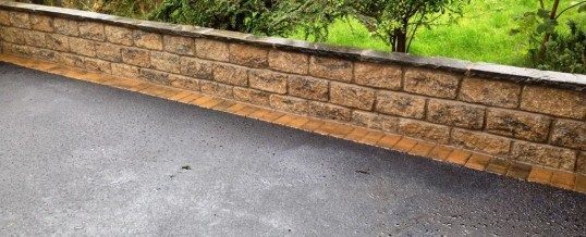 Picture Frame Tarmac with Bracken Borders Wesley Drive Heysham 3