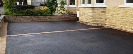 Picture Frame Tarmac with Bracken Borders Wesley Drive Heysham