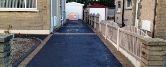 Oak Ave Picture Frame Tarmac with Bracken Borders1