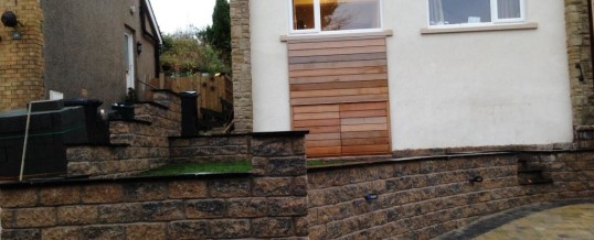 Abbey Sett Tegular Paving in Burnt Willow with Charcoal Borders Newlands Road Lancaster 2