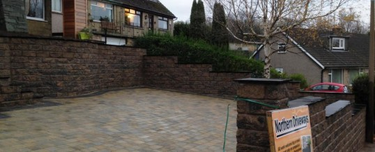 Abbey Sett Tegular Paving in Burnt Willow with Charcoal Borders Newlands Road Lancaster 3