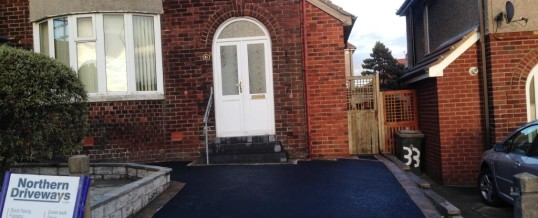 Picture Frame Tarmac with Bracken Borders Cork Road Lancaster