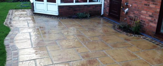 Marshall's Heritage Paving with Natural Stone Borders Aire Close Grosvenor Park Morecambe2