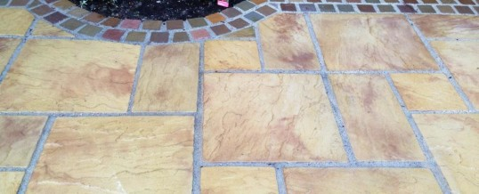 Marshall's Heritage Paving with Natural Stone Borders Aire Close Grosvenor Park Morecambe3