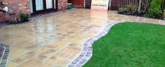 Marshall's Heritage Paving with Natural Stone Borders Aire Close Grosvenor Park Morecambe4