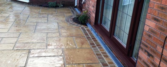 Marshall's Heritage Paving with Natural Stone Borders Aire Close Grosvenor Park Morecambe5