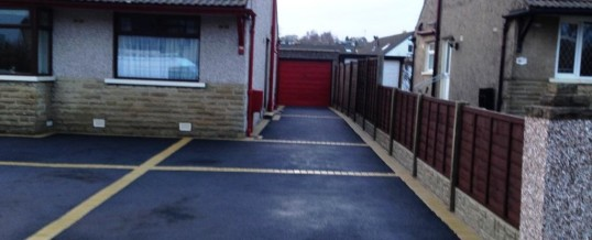 Picture Frame Tarmac with Buff Borders Halton Road Lancaster