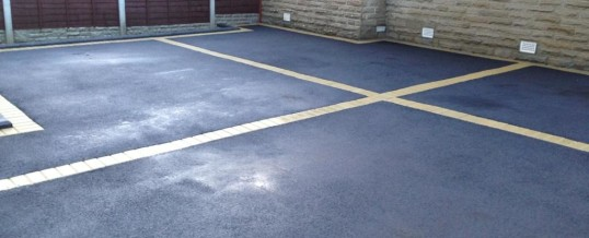 Picture Frame Tarmac with Buff Borders Halton Road Lancaster 2